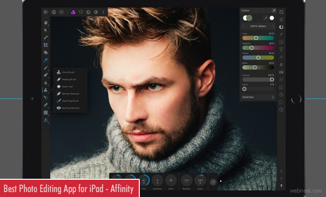 Best Photo Editing App for iPad - Affinity