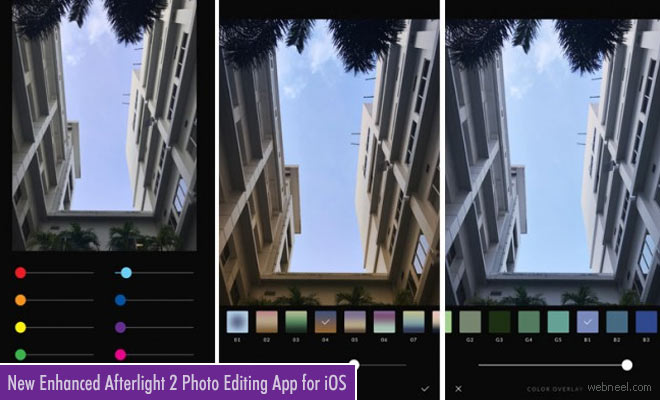 New enhanced Afterlight 2 photo editing app for iOS