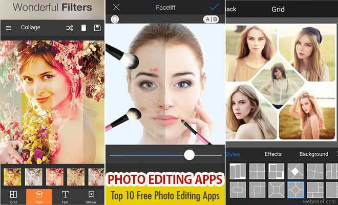 Top 20 Best and Free Photo Editing Apps - Android Apps  - part 2