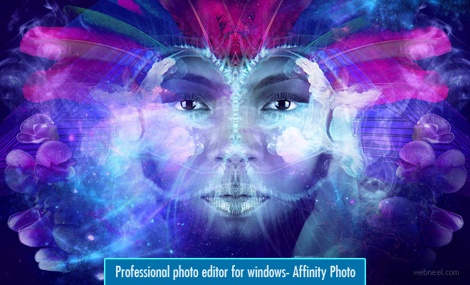 Professional Photo editing Software for windows - Affinity Photo