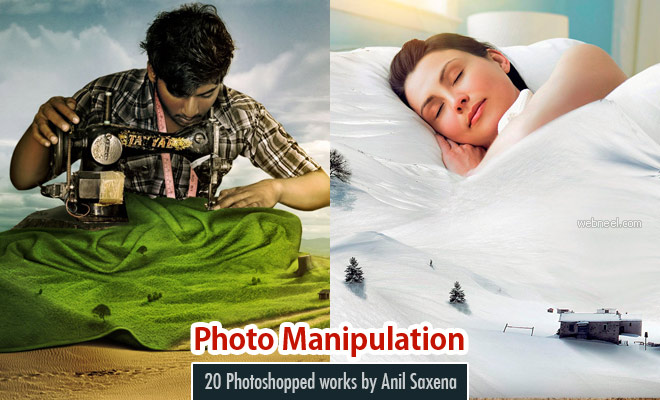 25 Creative Photo manipulation works by Indian Artist Anil Saxena