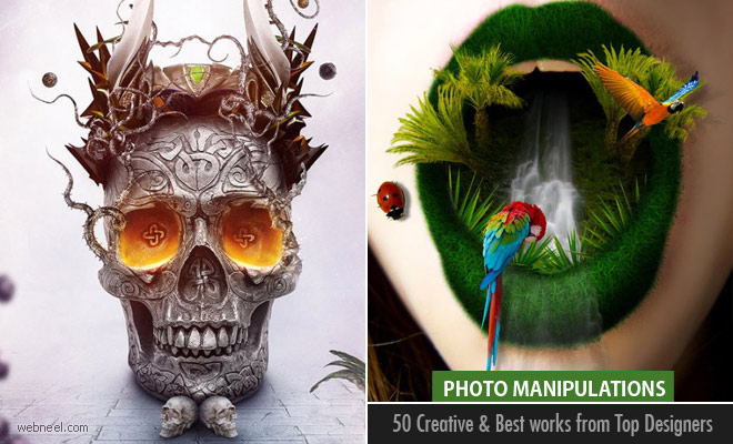 50 Creative Photo Manipulations works from top Photoshop designers - part 2