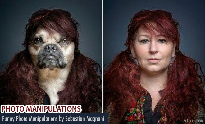 Funny and creative Photo Manipulations by Sebastian Magnani