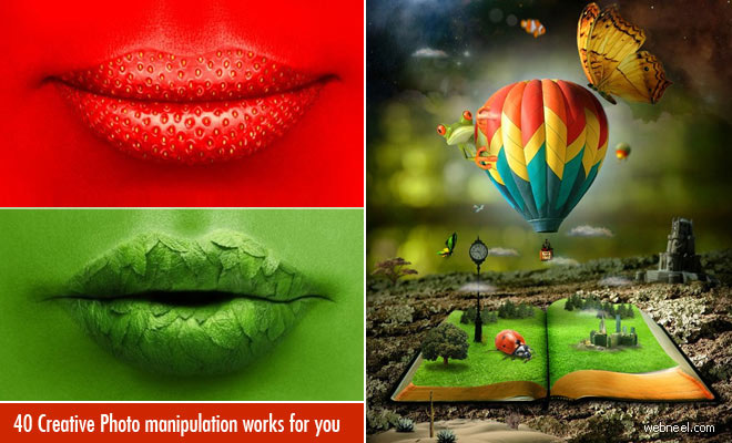 50 Creative Photo Manipulations from top designers around the world