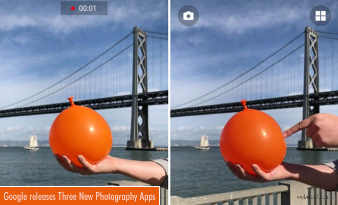 Google Releases Three New Photography Apps for Both IOS and Android Smartphones