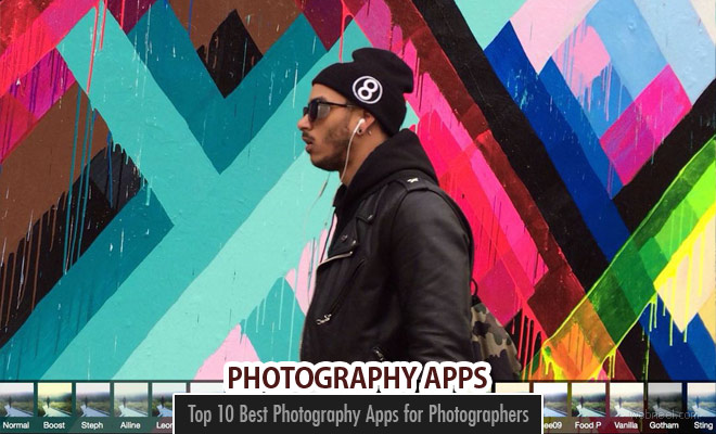 Top 10 Best Photography Apps for Photographers