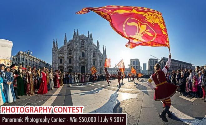 Panoramic photography Contest - Win $50000 | July 9 2017