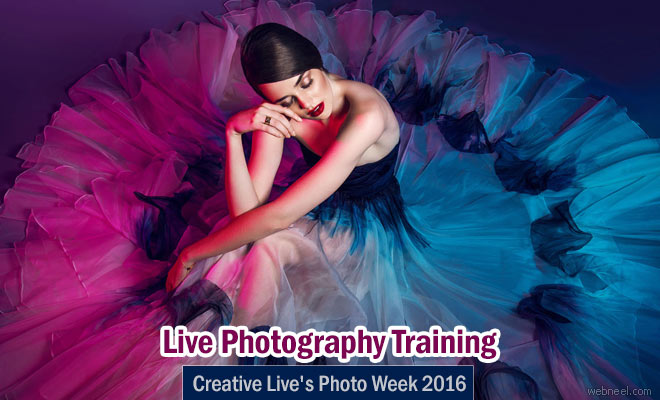 Live Photography Training from Masters - Creative Live's Photo Week 2016