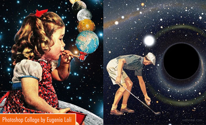 Surreal Photoshop Collage and manipulation works by Eugenia Loli