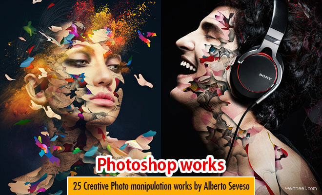 50 Creative Photoshop Photo Manipulation works by Alberto Seveso