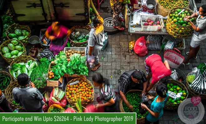 Pink Lady Food Photography Contest 2019 - entries till 10 February 2019