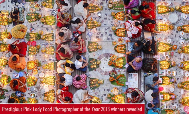 Prestigious Pink Lady Food Photographer of the Year 2018 winners revealed