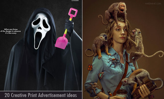 20 Creative Print Advertisement design ideas for your inspiration