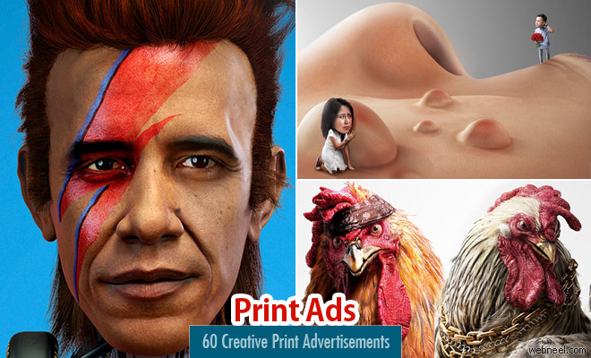 80 Creative Print Advertisements and print ads for your inspiration