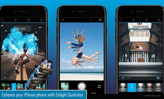 Enhance your iPhone photos with Enlight Quickshot photo editing app