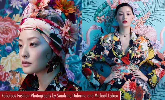 Fabulous London Fashion Photography examples by Sandrine Dulermo