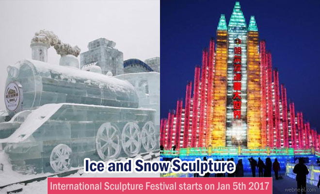 Harbin International Ice And Snow Sculpture Festival January 2017