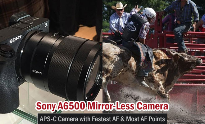 Sony A6500 - Premium Camera with All-Round Performance