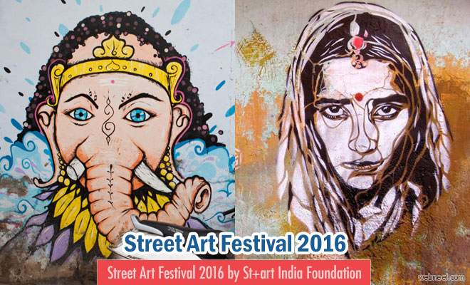 Street Art Festival 2016 by St+art India Foundation