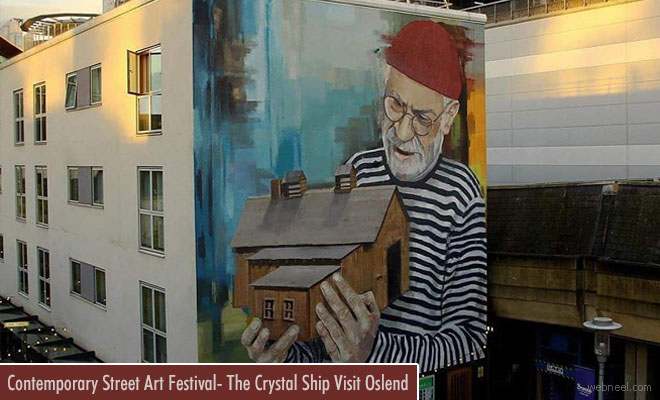 Contemporary Art Festival - The Crystal Ship Opens on 7th April at Ostend Belgium