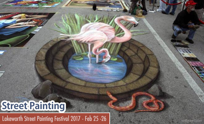 Street Painting Festival 2017 - Visit Florida Feb 25 - 26