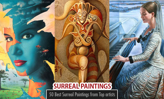 50 Best Surreal Paintings and Art works from Top artists - part 2