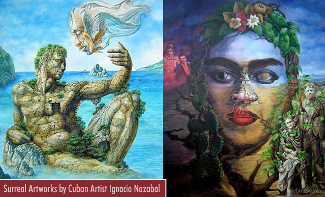 25 Creative Surreal Artworks by Cuban Artist Ignacio Nazabal
