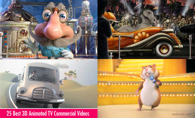 25 Best 3D Animated TV Commercial Videos - TVC