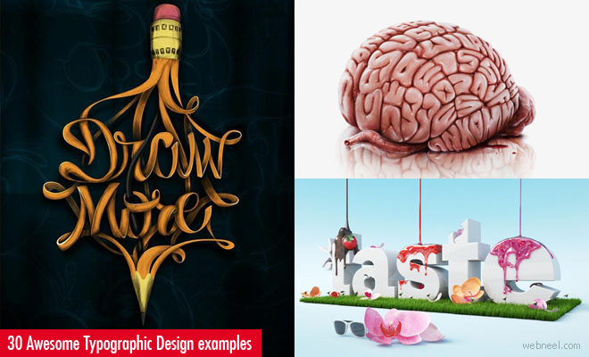 30 Awesome and Creative Typographic Designs and Typography Posters