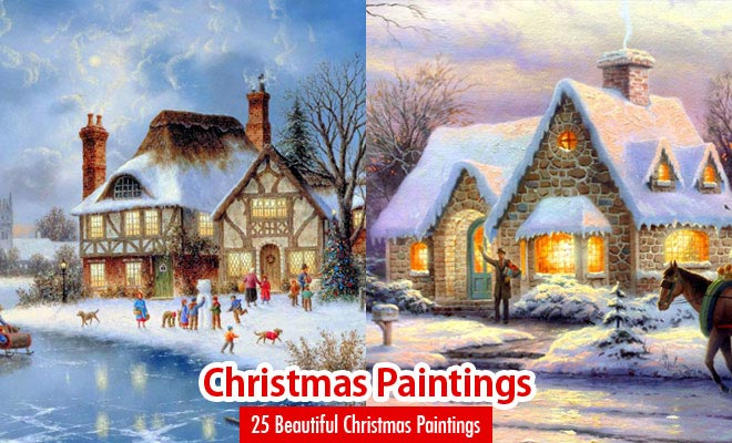 40 Beautiful Christmas Paintings for your inspiration - Part 2