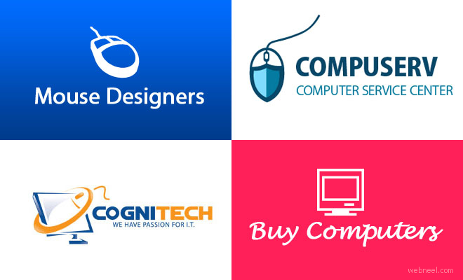 40 Creative Computer Logos Design examples for your inspiration