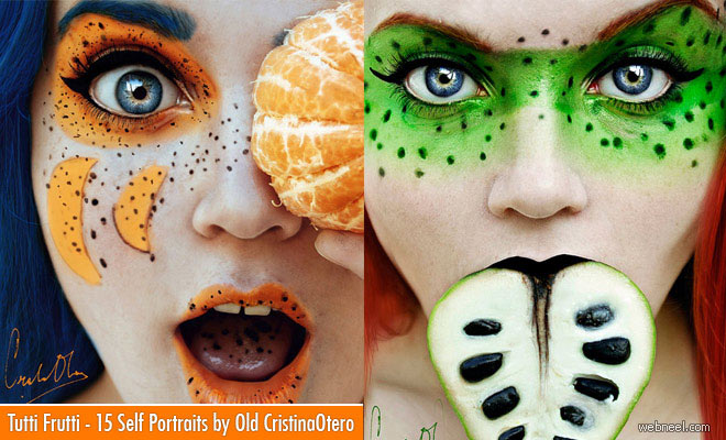 Tutti Frutti - 15 Creative Face Painting ideas of Cristina Otero