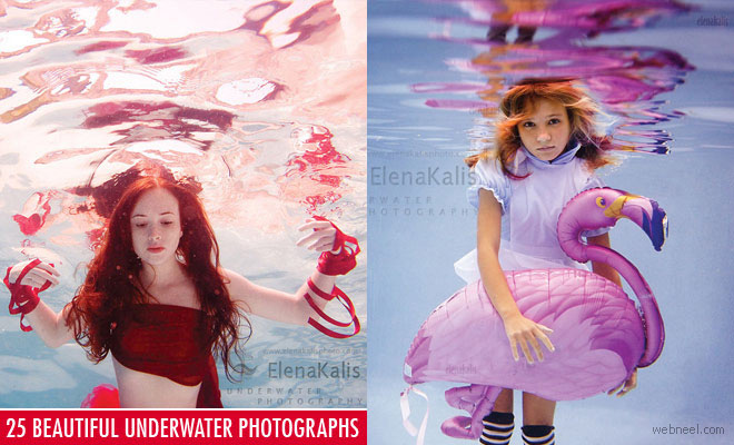 25 Beautiful Underwater Photography examples by Elena Kalis