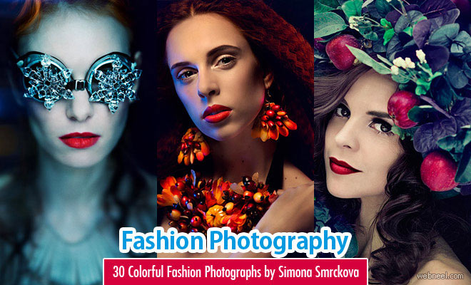30 Colorful and Creative Fashion Photography examples by Simona Smrckova