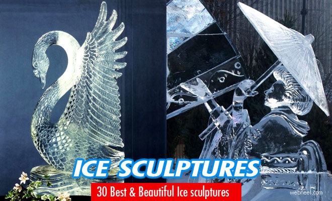 40 Beautiful Ice Sculptures from Ice Festivals around the world