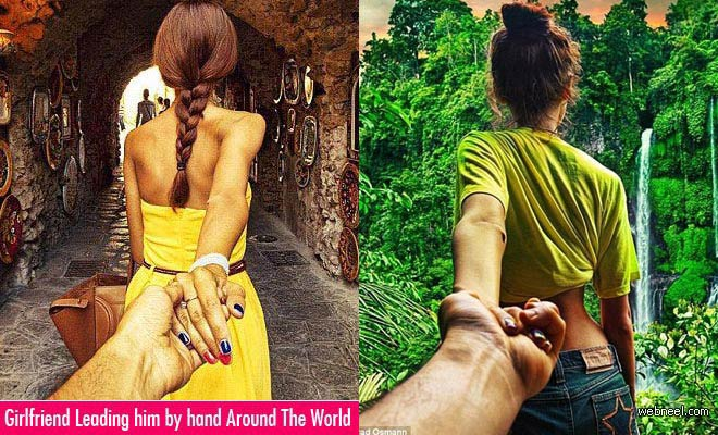 Murad Osmann Photography Of Girlfriend Leading Him By The Hand Around The World