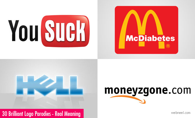 30 Brilliant Logo Parodies that say the Real Meaning of Famous Brands