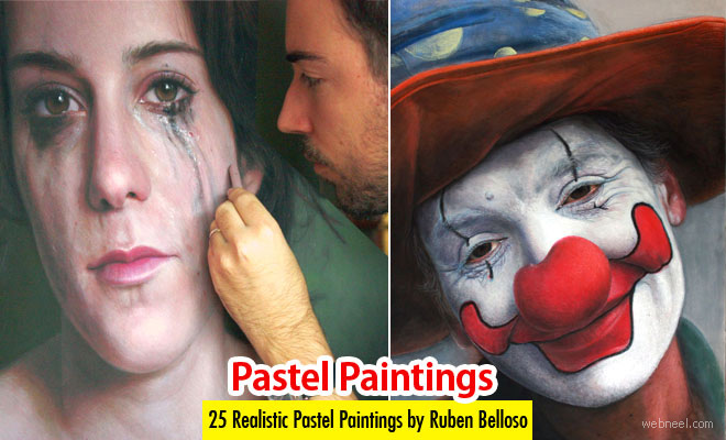 25 Beautiful and Realistic Pastel Paintings by Ruben Belloso