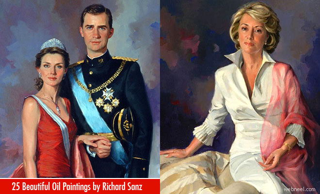 25 Great Oil Portraits and Scenery Paintings by Spanish Artist Richardo Sanz