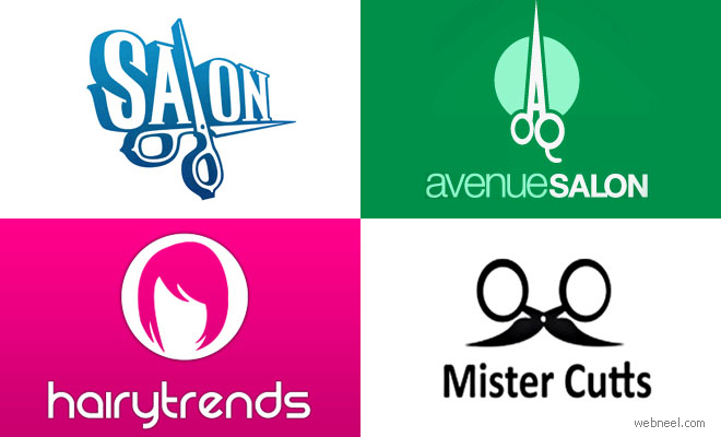 40 Creative Salon Logo Design Ideas for your inspiration