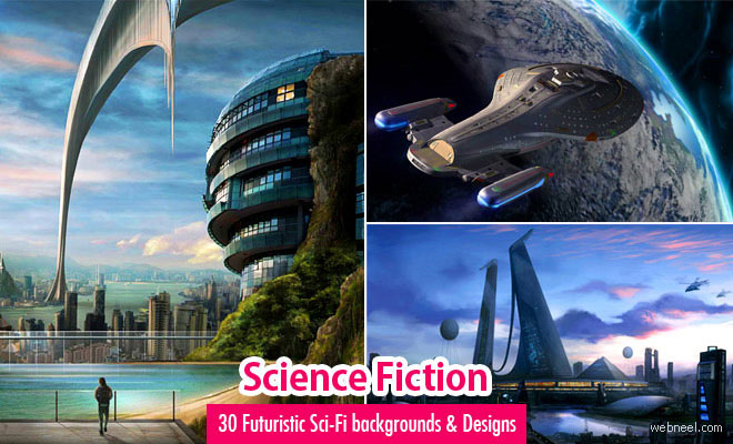 30 Futuristic Sci-Fi Characters and Backgrounds for your inspiration