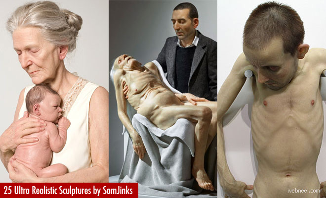 25 Stunning Ultra Realistic Mixed Media Sculptures by Sam Jinks