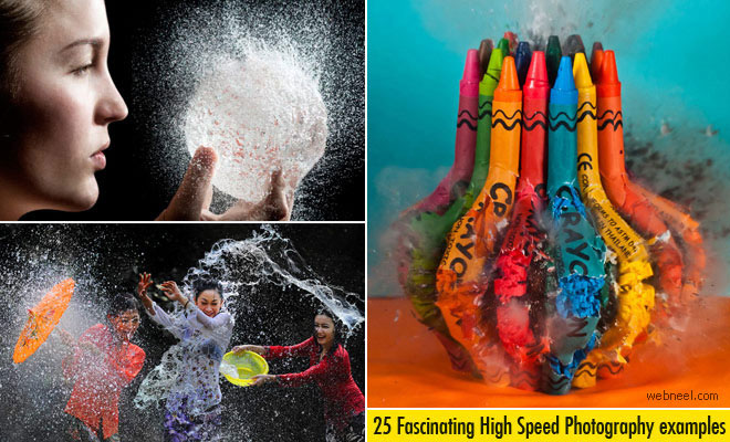 25 Stunning High Speed Photography examples and Tips for beginners