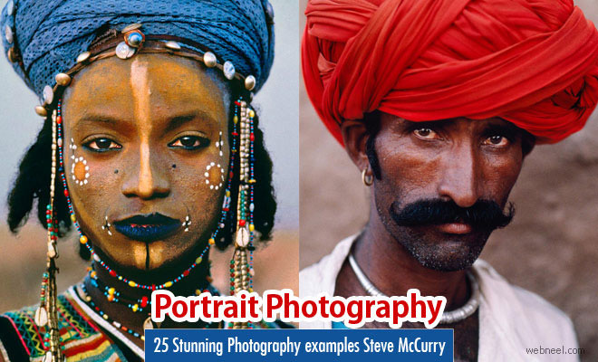 25 Stunning Portrait Photography examples of Famous American Photographer SteveMcCurry