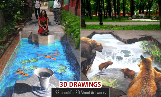 50 Incredible 3D Street Art works from the worlds best street artists - part 2