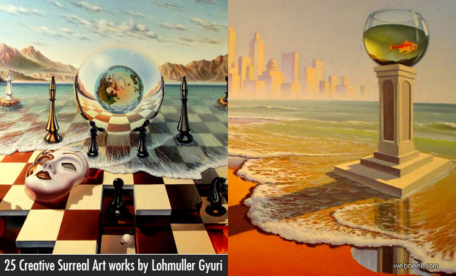 25 Beautiful Surreal Art works by Lohmuller Gyuri