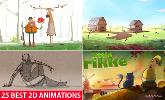 25 Best 2D Animation Videos and Short films for your inspiration
