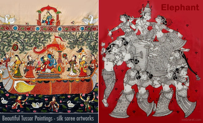 Tussar Paintings