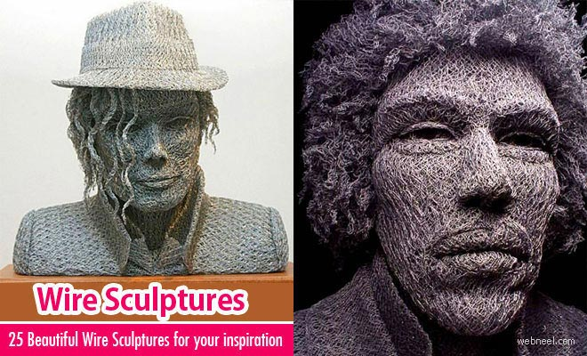 25 Beautiful Wire Sculptures around the world for your inspiration