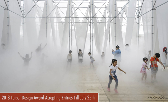 2018 International Taipei Design Award Participate and Win $126000